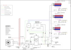 Cool Ceilings Mechanical Room Schematic by Warm Corp West