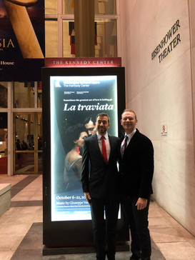 Opening Night, Assistant Conductor for Washington National Opera's La traviata, October 2018