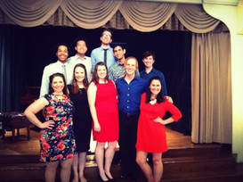 Maryland Opera Studio Performing at Arts Club of Washington, May 2013
