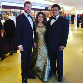 Performing With Soprano Marlen Nahhas and Tenor Joshua Blue, Shakespeare Theatre Company Gala, October 2018