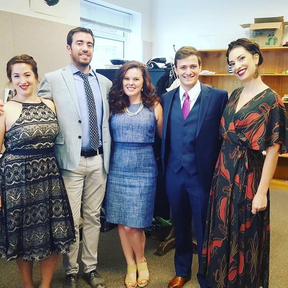 Colleagues at Maryland Opera Studio, University of Maryland