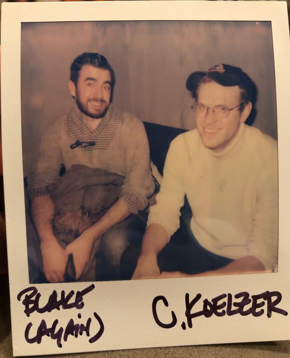 Recording Blake Allen's Album SONATAS at Moon Studio, Brooklyn, NY, February 2019