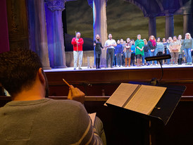 Dress Rehearsal for Thaïs, Assistant Conductor with Maryland Lyric Opera, January 2020