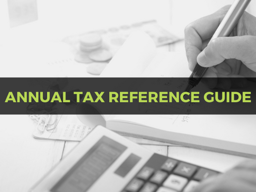 2019 Tax Reference Guide