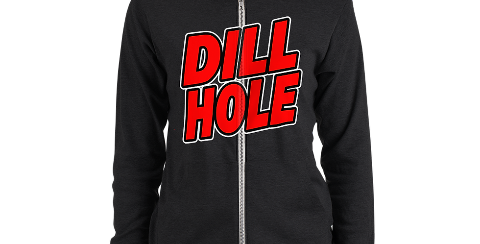 Fourth Room Brewing Dillhole Unisex zip hoodie