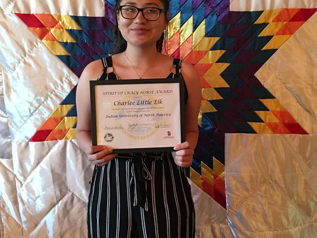 INTERN SPOTLIGHT:Charlee Rose Little Elk (Sicangu Lakota)