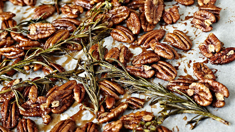 Herb Roasted Pecans