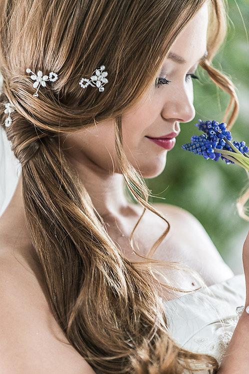 Braut Haarschmuck-Haarnadeln/Curlies-Süßwasserperlen