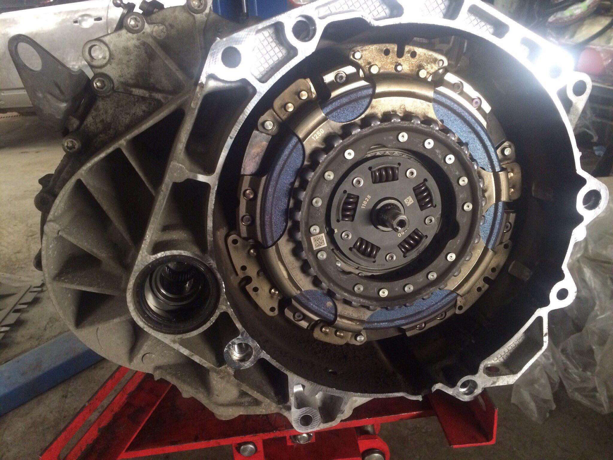 Dsg 6 замена на механику
