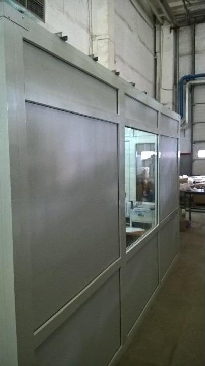 Кабінет з металопластику