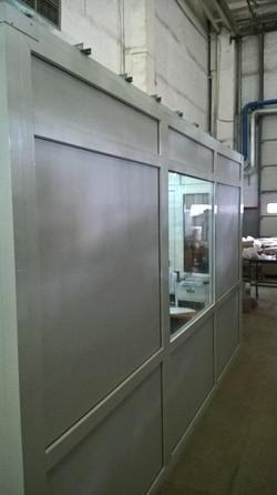 Кабинет из металлопластика