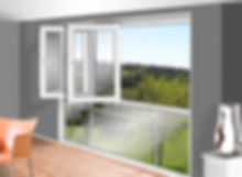 раздвижные металлопластиковые окна гармошка
