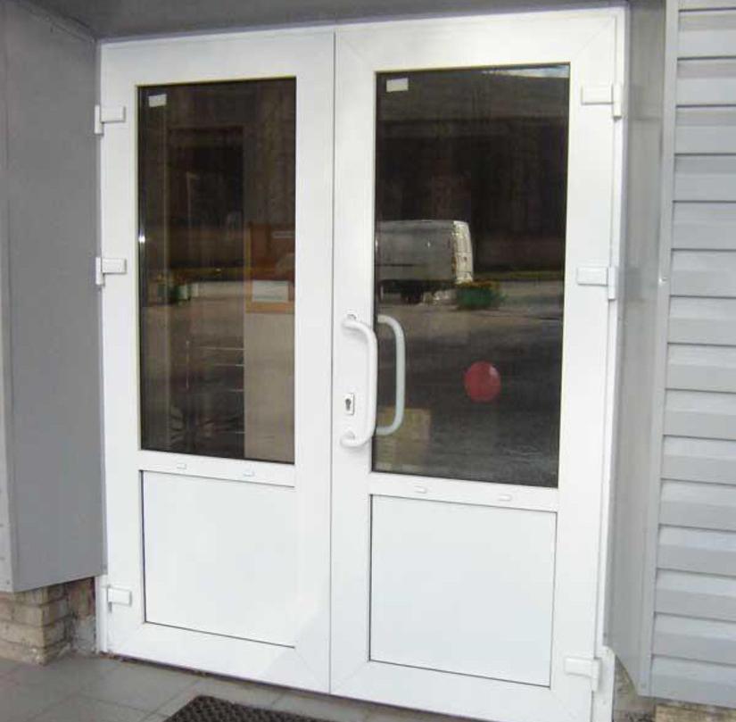 Вхідні металопластикові двері