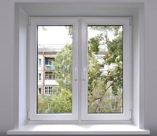металлопластиковое окно в квартиру