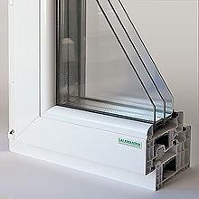 Металлопластиковые окна саламандра