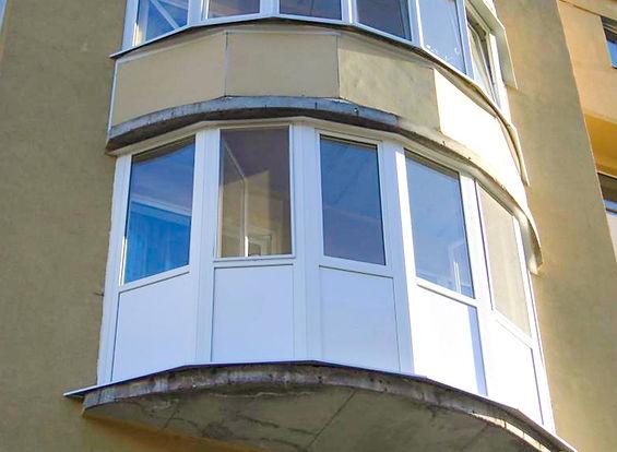 застеклить эркерный балкон