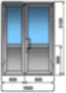 пластиковые двери уличные