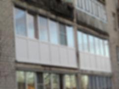 скління лоджій, балконів