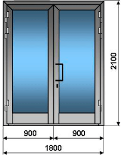 пластиковые двери для гостинной