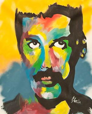 Freddy Mercury Gloria Artist