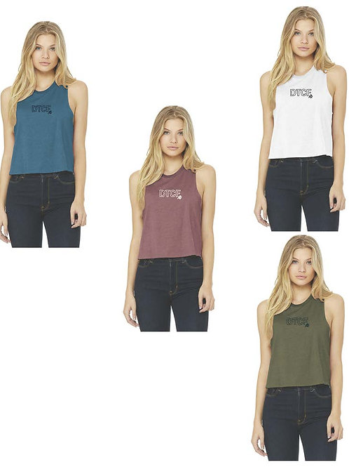 """""""DCTF"""" Cropped Tank"""