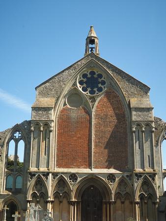 norfolk church ruins