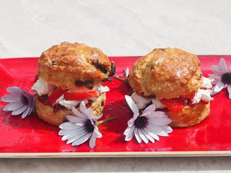 Our famous cream scones