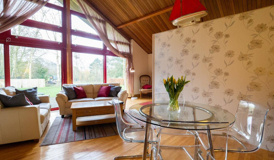Cottages in Norfolk Broads village