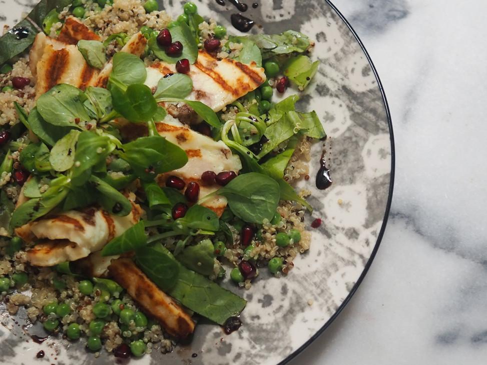 Halloumi & Quinoa salad