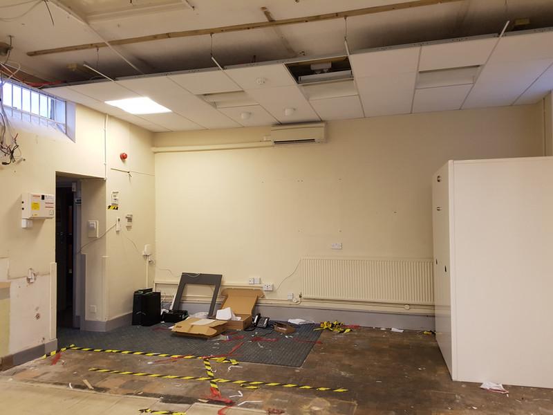 Former bank renovation