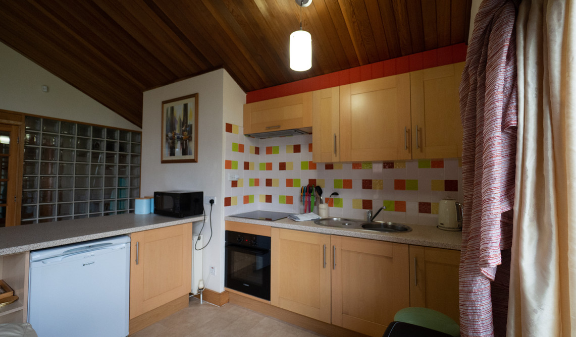 Fully equipped mordern kitchen