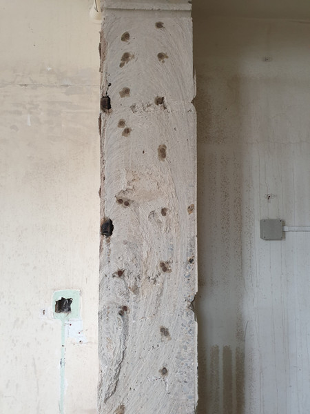How thick are bank walls?