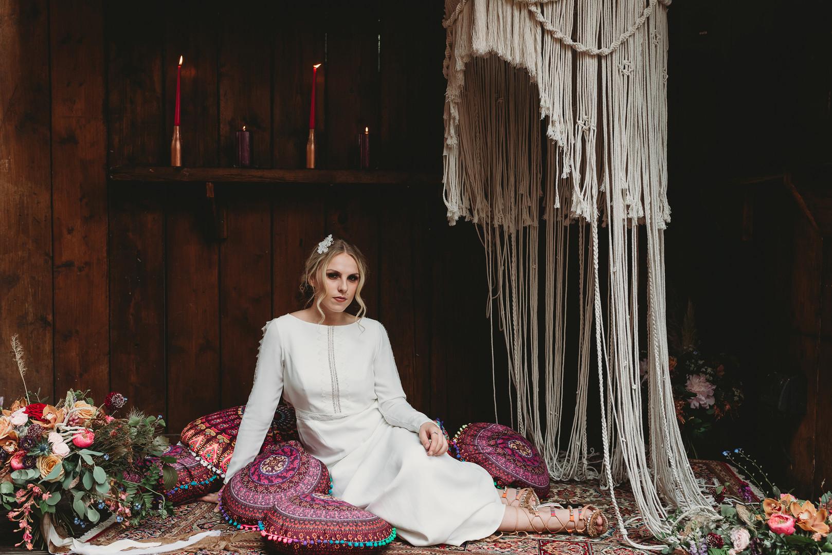 Bohemian wedding inspo