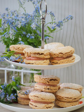 Afternoon Tea at The Terrace at Loddon outside seating dining area