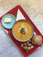 Home made soup