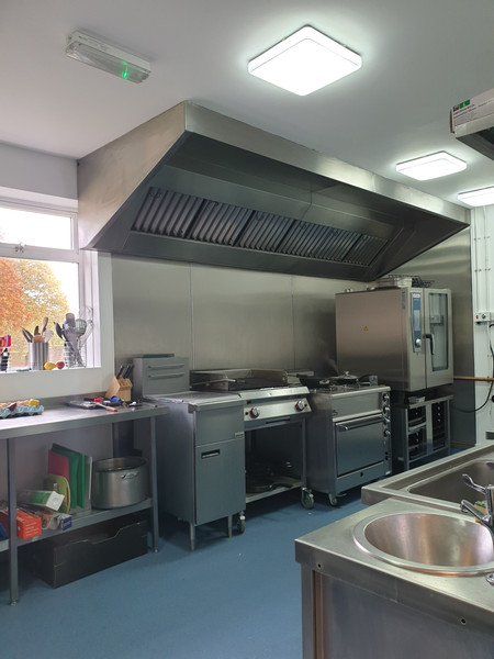 From an office space to a commencial kitchen