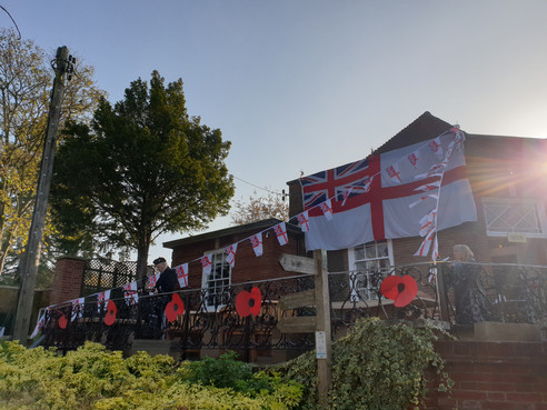remembrance day at The Terrace