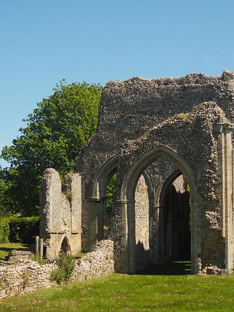 ruins in norfolk