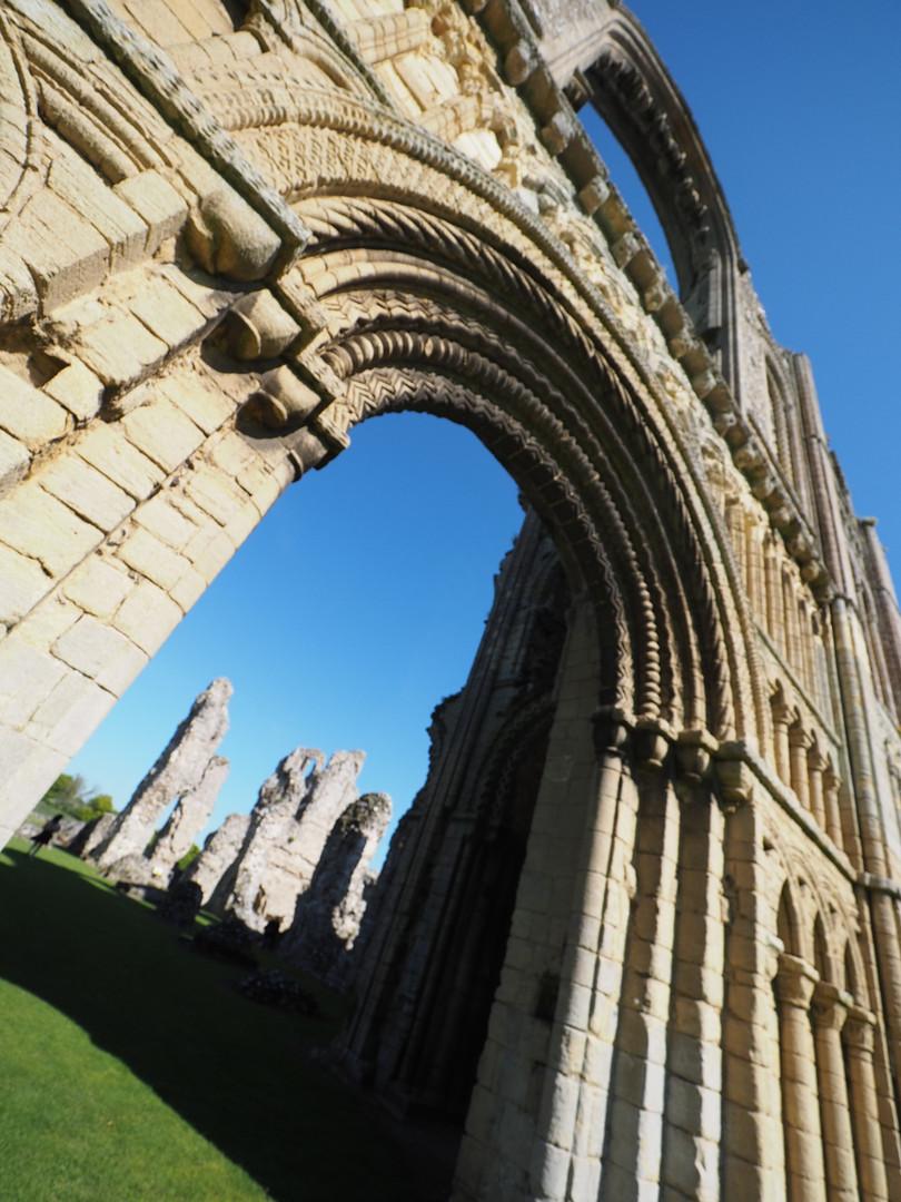 ruins abbey