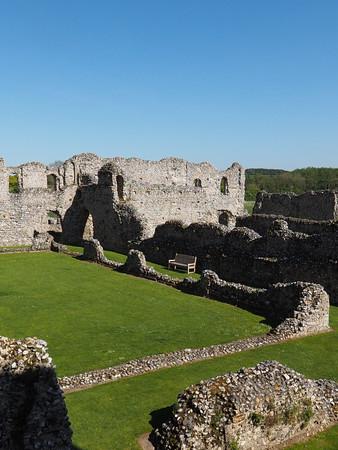 norfolk castle ruins