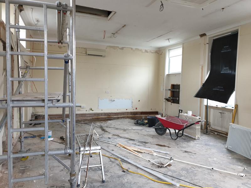 bank renovation