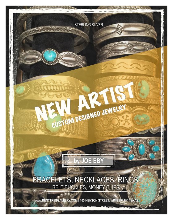 Handmade, Unique Sterling Silver and Turquoise Jewelry