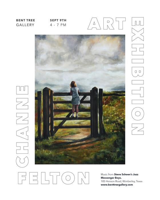 Featured Artist for September - Channe Felton
