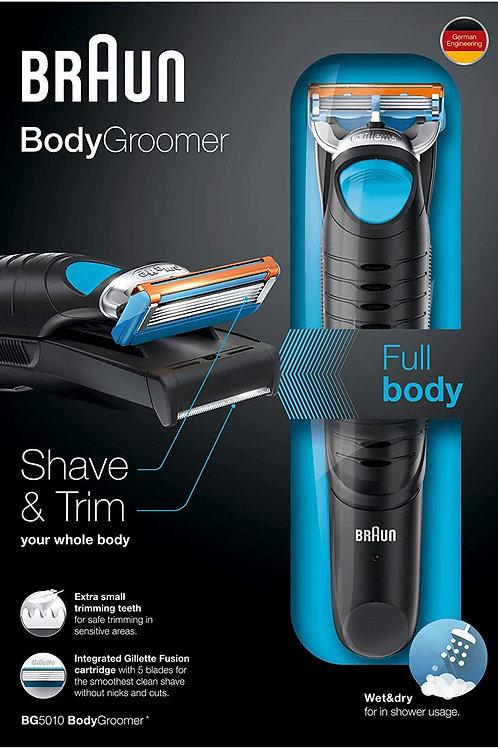 Afeitadora corporal para hombres braun body groomer