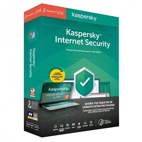 Antivirus Kaspersky Security 2 Dispositivos