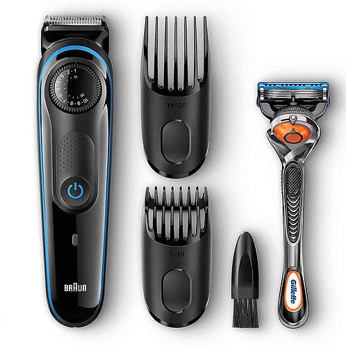 Máquina Cortar Pelo, Recortadora Barba y Cortapelos, Braun BT3040