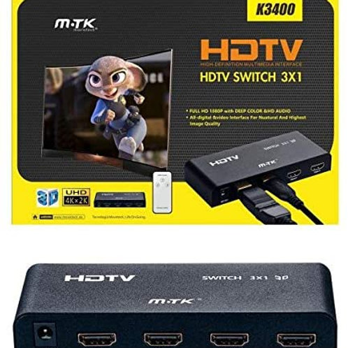 Mtk K3400 - Switch Hdmi, Multicolor