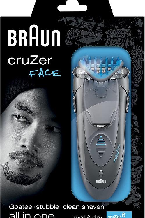 Cortapelos Braun Cruzer Face 6