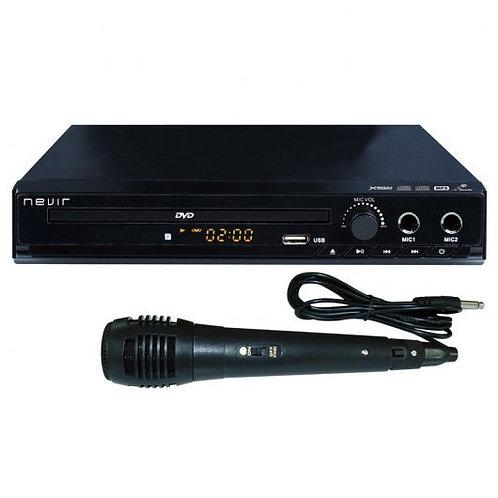 Reprooducto DVD Nevir NVR-2329 DVD-KUM con puerto USB y Karaoke