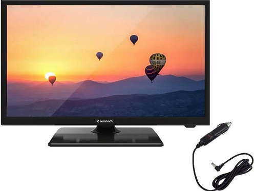 Tv susntech 22 pulgadas con conexion a 12v